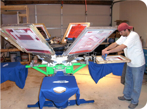 Screen Printing - Outsourcing to Contract Printer