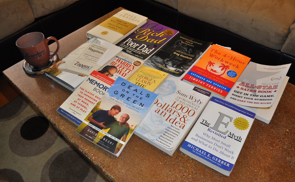 Top Books for Entrepreneurs - Coffee Table Business Books