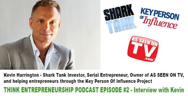 Kevin Harrington Interview