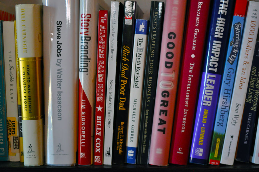 Top 30 Business Books For Entrepreneurs