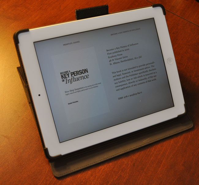 Using the Kindle App to take books while traveling!