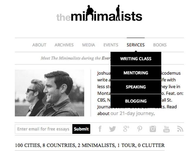the-minimalists-hire-me-page