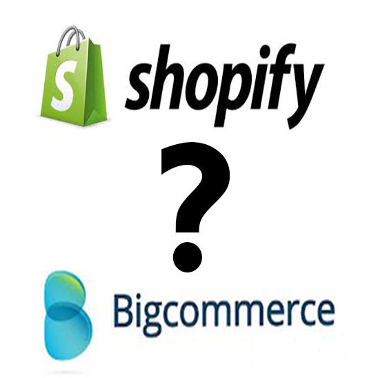 Shopify vs Bigcommerce Review