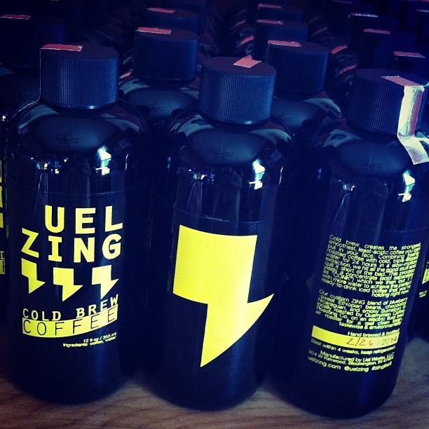 UEL ZING coffee - Labels Feb 2014