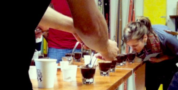UEL ZING coffee cupping 117