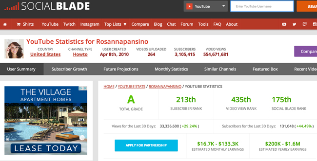 Social-Blade-how-much-money-can-you-make-on-youtube