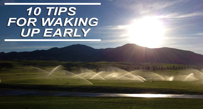 Tips for Waking up Early in 2015