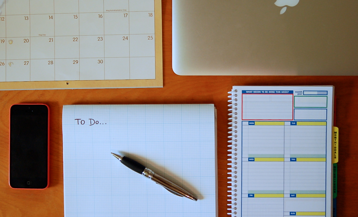 Organization Tips: Cleaning Up Your Workspace And Your Calendar
