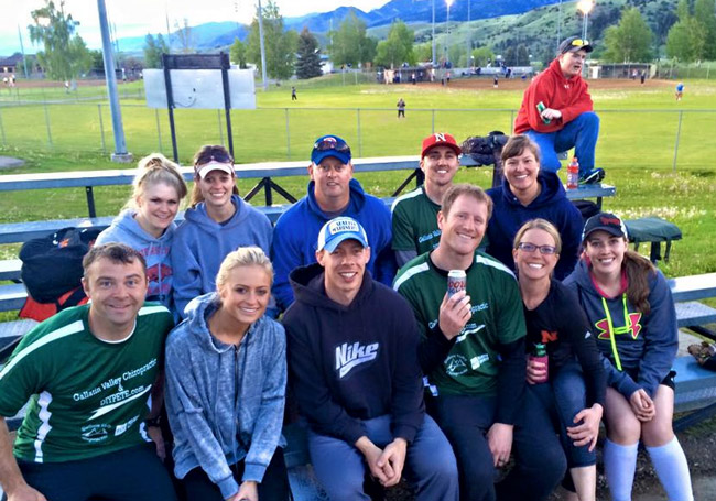 DIY PETE softball team Bozeman Montana