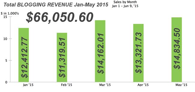 Think Entrepreneurship and DIY PETE Blogging Revenue