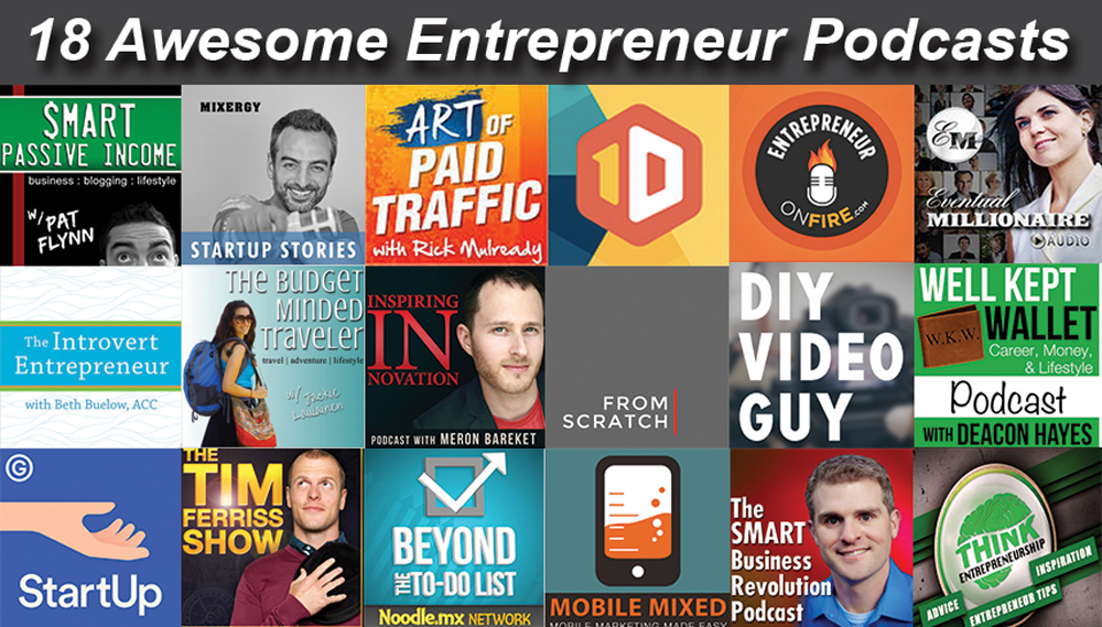 Top 18 Entrepreneur Podcasts for 2015