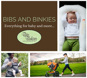 bibs and binkies