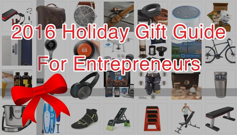 Holiday Gift Guide : 100 Gift Ideas for Entrepreneurs