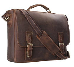 Gift ideas leather brief case