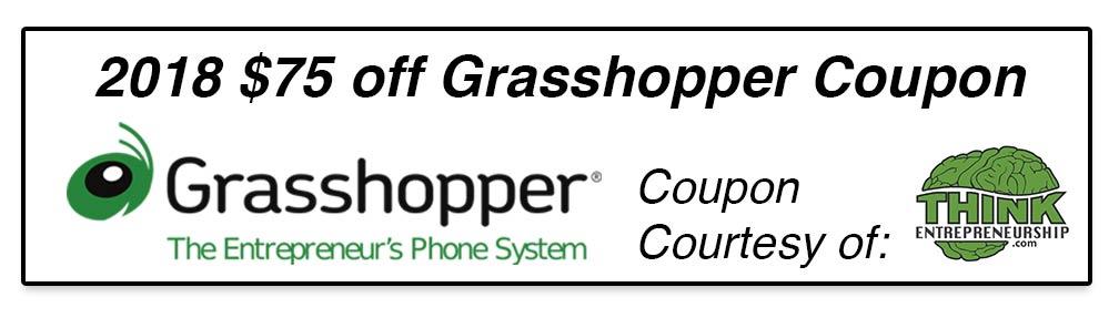 2018 Grasshopper Coupon Code