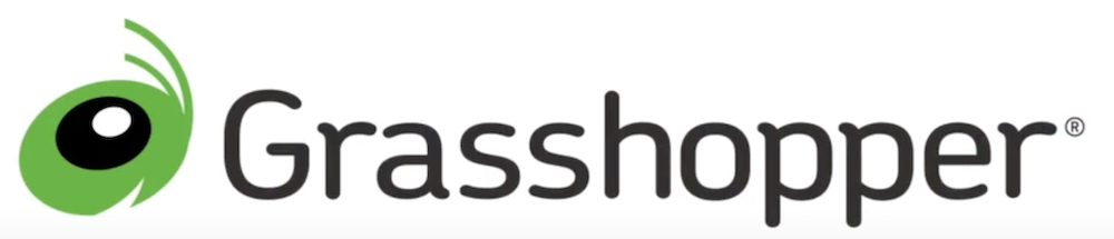 Grasshopper best 800 number service logo