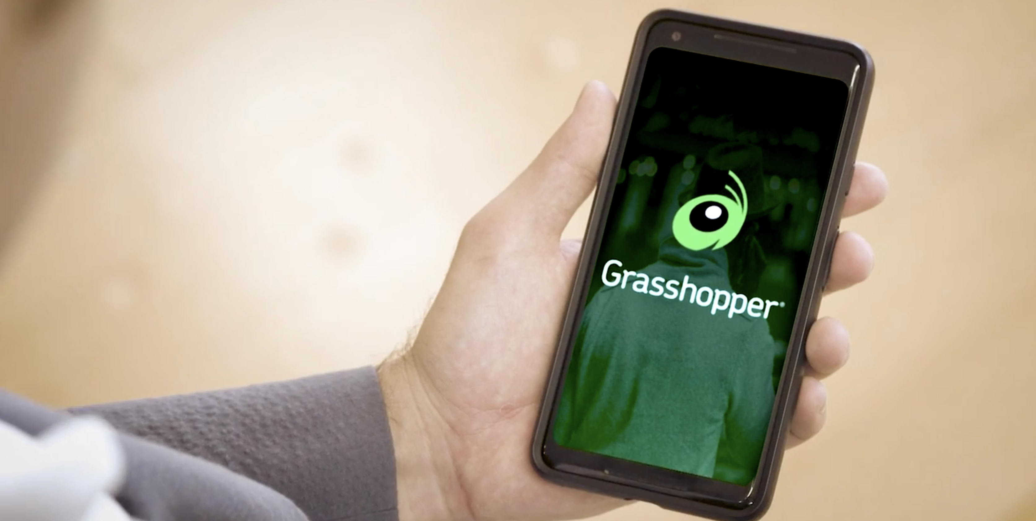 Example of Grasshopper on phone