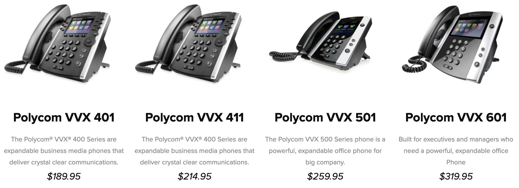 Phone.com Phones