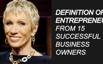 Definition of Entrepreneur from 15 Successful Business Owners (2021)