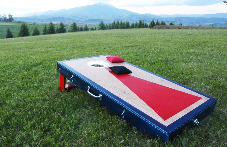 Cornhole DIY woodworking projects