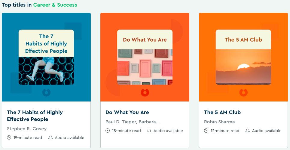 Get Motivated Learning Apps Blinkist Entrepreneurship