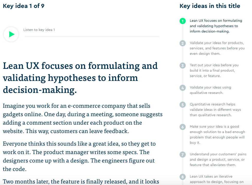 Get Motivated Learning Apps Blinkist UX