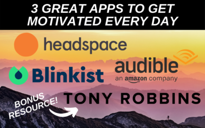 3 Great Apps to Get Motivated Every Day (2021)