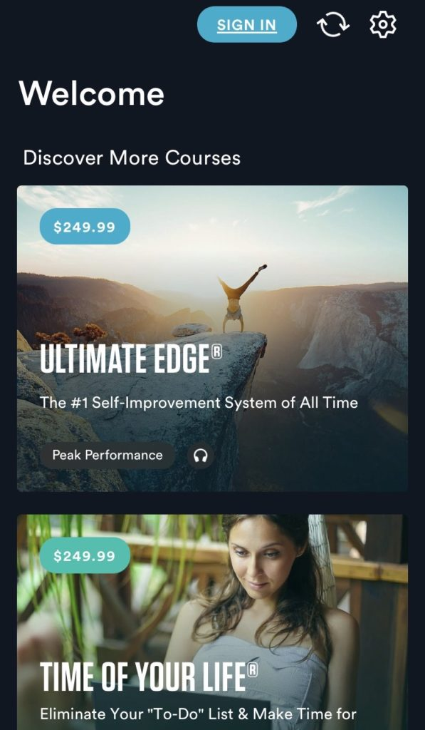 Get Motivated Learning Apps Tony Robbins Breakthrough