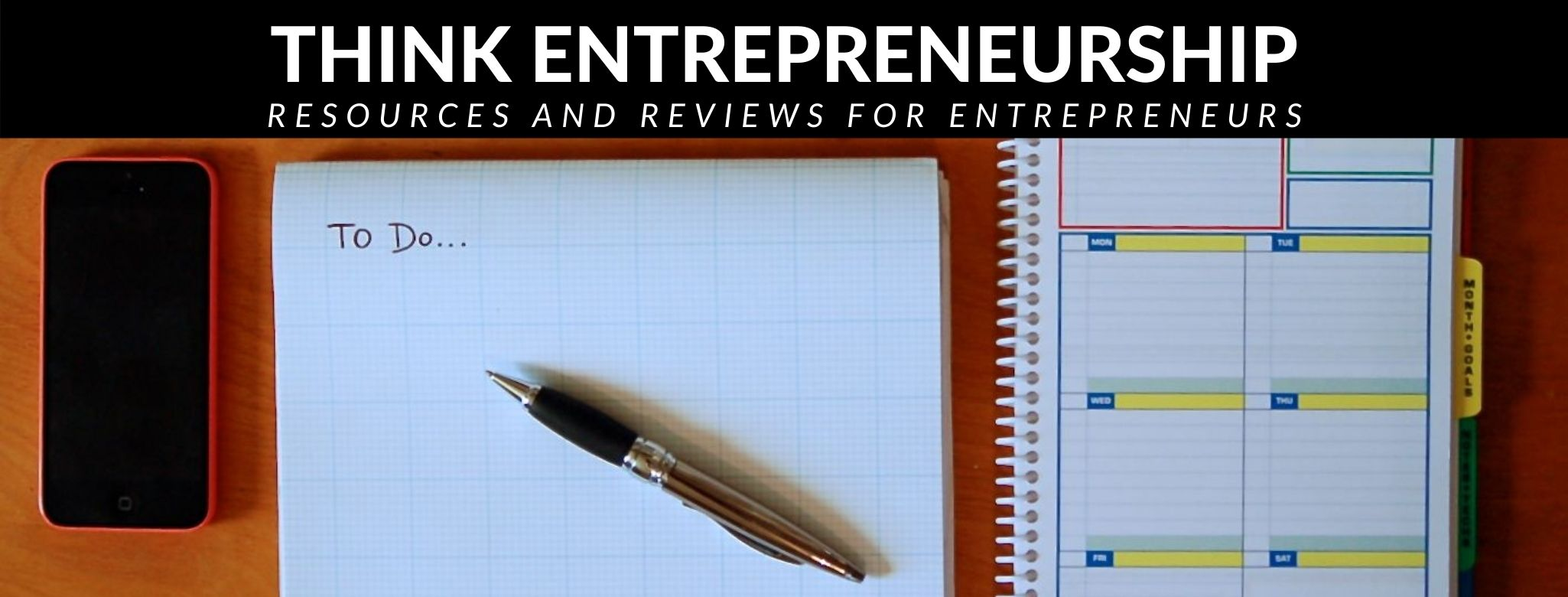 Think Entrepreneurship Organization Header